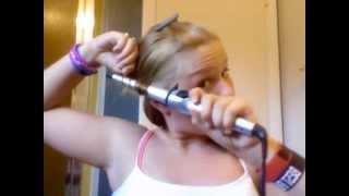 Burning My Hair OffORIGINAL VIDEO- (Hair Tutorial Gone