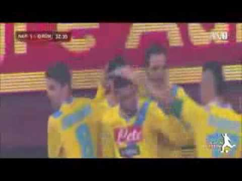 Napoli-Roma 3-0 Highlights