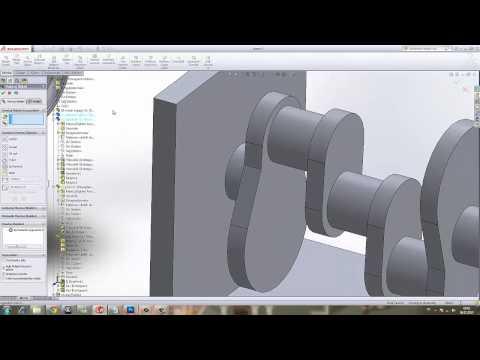 Yakın Kampüs   SolidWorks Krank Biyel Mekanizması   5   Montaj