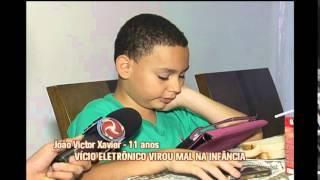 Consultor em educa��o condena v�cio de crian�as em aparelhos eletr�nicos