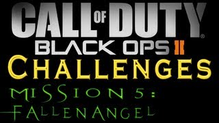 Black Ops 2: Mission 5 (Fallen Angel) All Challenges