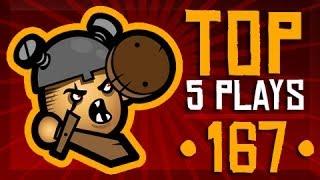 League Of Legends Top 5 Plays Week 167 Featuring Sp4zie