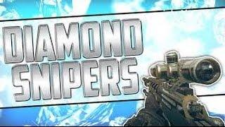 Glitch Bo2 Tous Les Sniper EN DIAMANT!!!