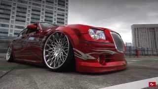 "Chrysler 300c On 24"" LF Wheels"