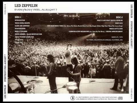 Communication Breakdown - Led Zeppelin (live Inglewood 1970-03-27)