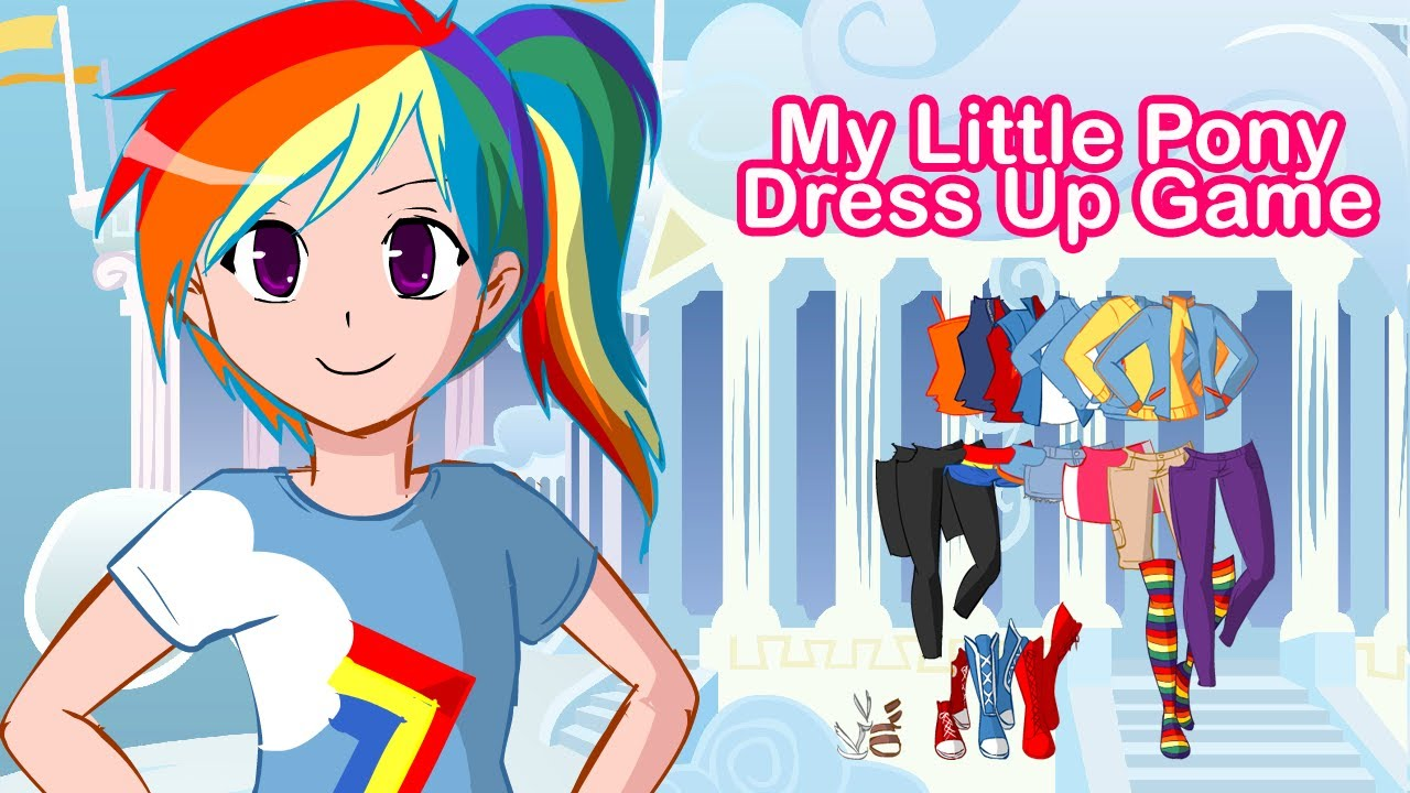dress up my little pony games