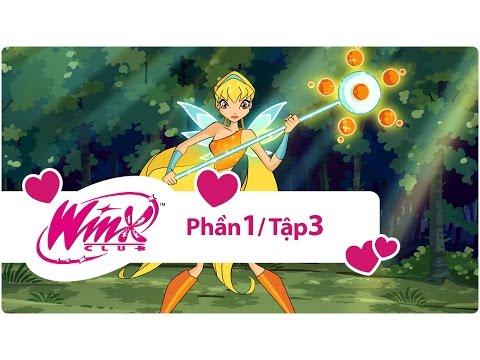 Winx Club Phần 1 - Những tiên nữ Winx xinh đẹp - Tập 3