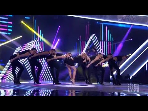Kylie Minogue | Sexy Love | The Voice Australia | Live 30 June 2014