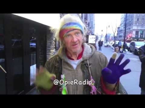 Crazy Homeless Dude - @OpieRadio