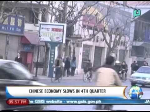 NewsLife: Chinese economy slows in 4th quarter || Jan. 20, 2014