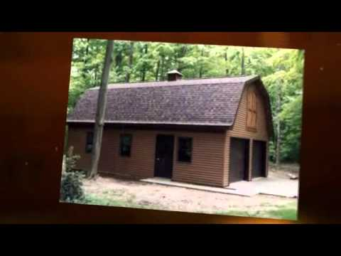 how to build a pole barn youtube