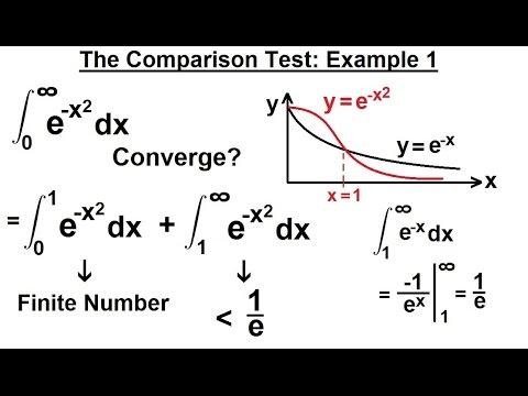 Calculus 2: Improper Integrals (12 of 16) Comparison Test: Example 1