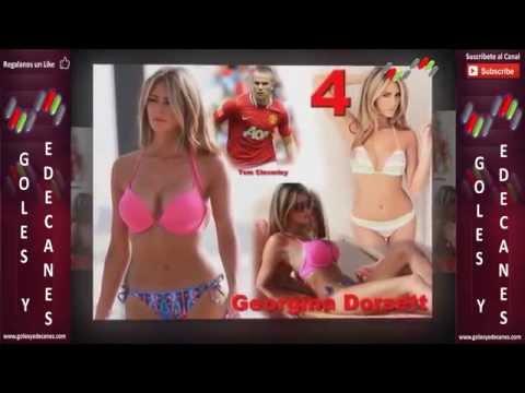 Las 15 Esposas mas Guapas de Futbolistas   Top 15 Hottest Wifes!!