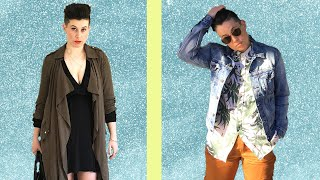 I Dressed Feminine And Masculine For A Day