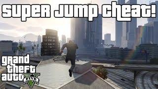 GTA 5: Super Jump Cheat XBOX 360 & PS3!