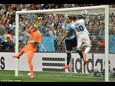 Uruguay vs England World Cup 2014 - How England won & lost the Match