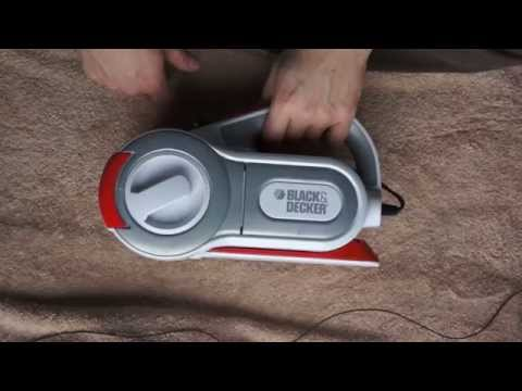 Unboxing - Black & Decker Car Vacuum - ASMR