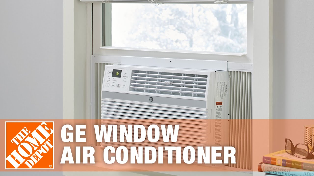 #854B46 GE 6 300 BTU Window Air Conditioner With Remote The Home  Most Recent 14800 Window Air Conditioner Home Depot image with 1920x1080 px on helpvideos.info - Air Conditioners, Air Coolers and more