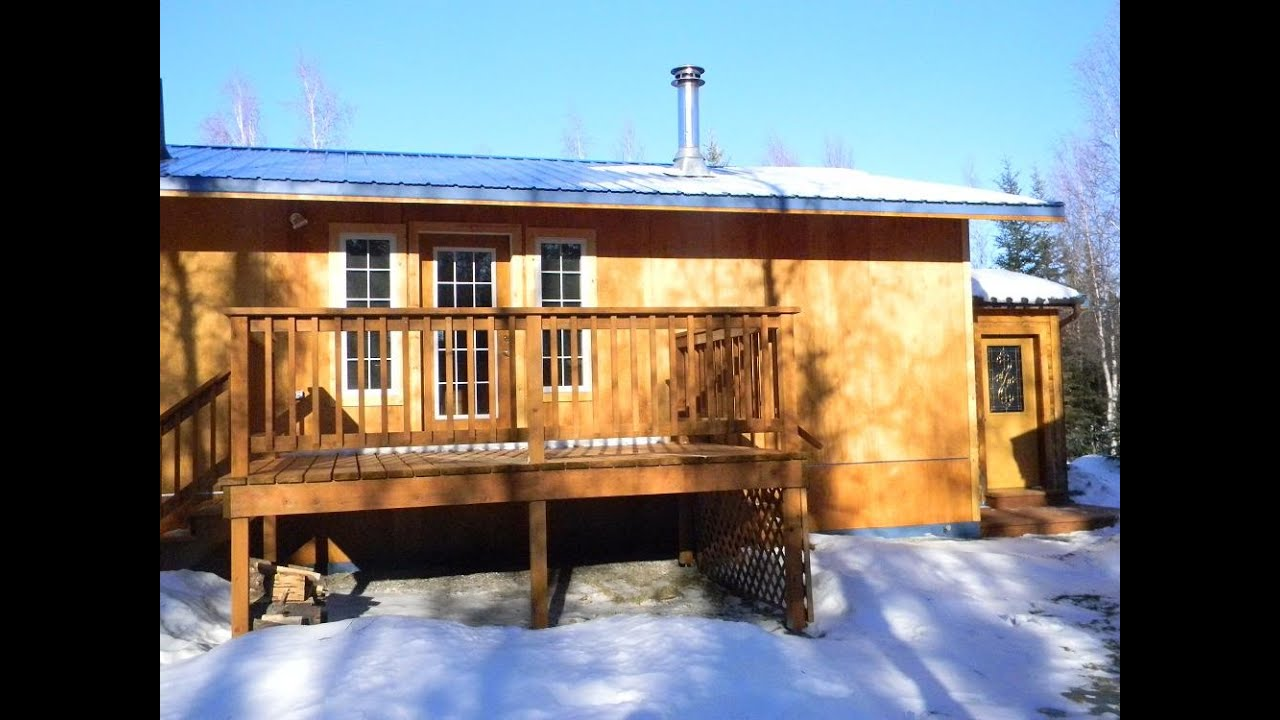Homes for sale delta junction alaska youtube for Home builders in alaska