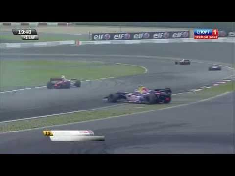 Mavlanov and Gasly Crash @ 2014 WSR 3.5 Nurburgring Race 1