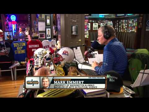 Mark Emmert on the Dan Patrick Show (Full Interview) 4/21/14
