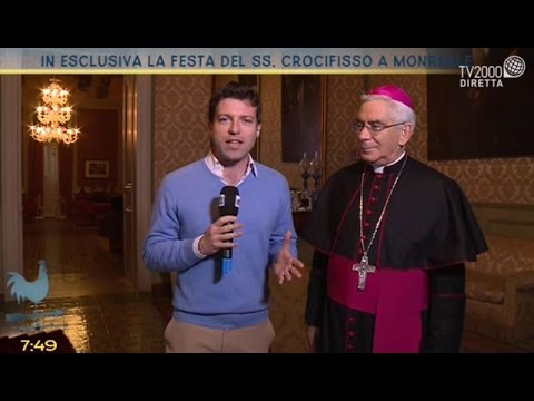 Festa SS. Crocifisso con Arcivescovo di Monreale