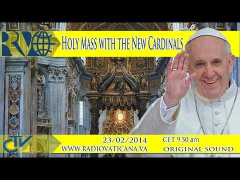Holy Mass with the New Cardinals