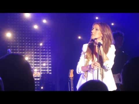 Celine Dion performs