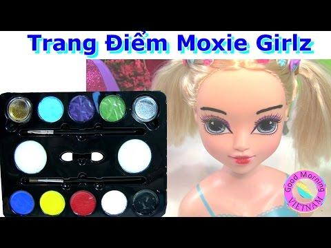 Trang Điểm Barbie Moxie Girlz (Phần 2) Trang Điểm Moxie Girlz Bằng Color Face Painting  Bi Do