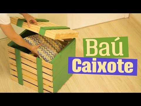 POLYFORT COLA MADEIRA - DIY: Baú caixote