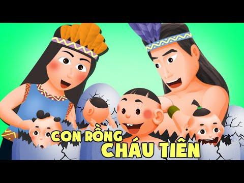Con Rồng cháu Tiên | Truyện dân gian hay cho bé | Phim hoạt hình Việt Nam hấp dẫn