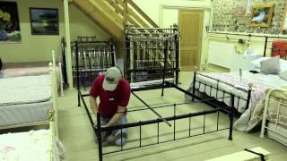 Bed Assembly Wrought Iron & Brass Bed Co