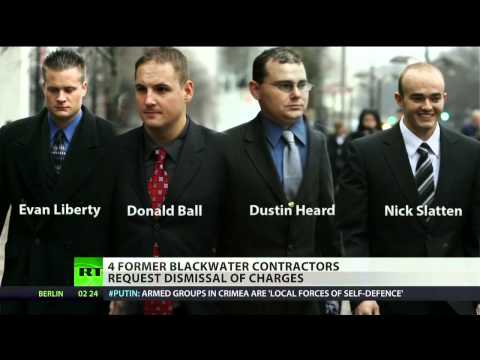 Former Blackwater contractors want Iraq shooting charges dropped