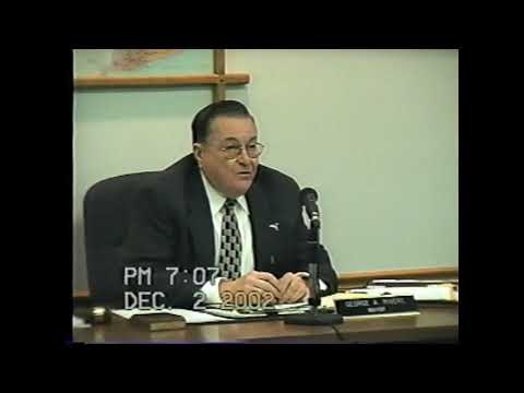 Rouses Point Village Board Meeting part one 12-2-02