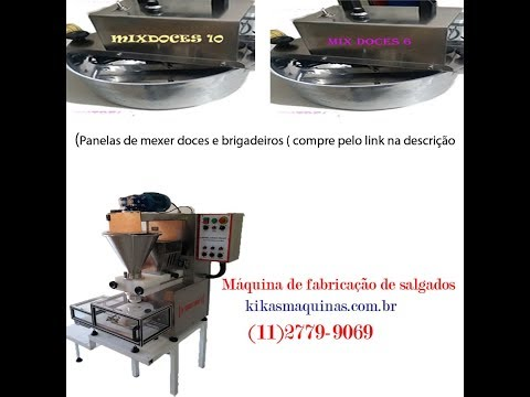 Máquina de Salgados  ( encrusting and forming machine)
