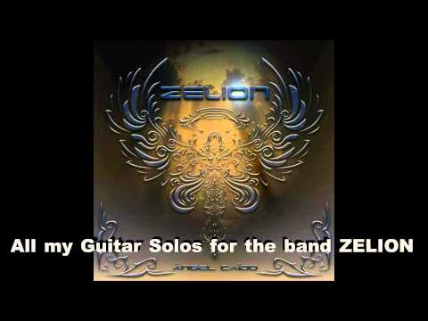 All my solos for the band ZELION - Hard Rock  Guitar Shred
