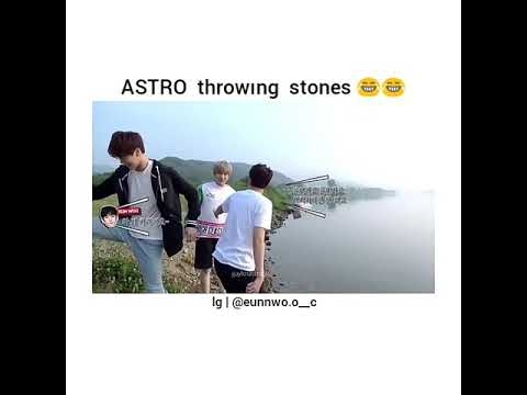 ASTRO - Funny Moments (Throwing Stone)