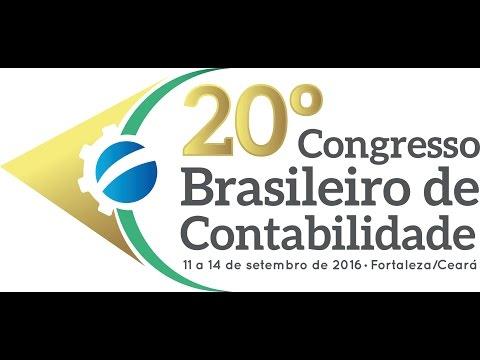 Chamada do 20º Congresso Brasileiro de Contabilidade