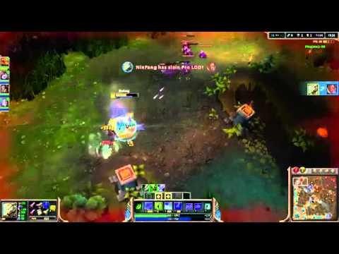 NinFang   Master Yi vs Lucian & Thresh   bot «Boss» R m Challenger I