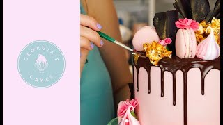 How To Decorate A Drip Cake | Georgia's Cakes