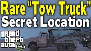 """GTA 5 RARE """"TOW TRUCK"""" LOCATION (Rare Car Guide #10"""