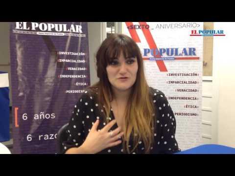Rozalén y sus canciones en Puebla