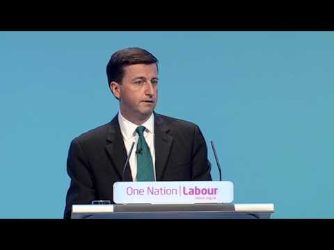Douglas Alexander's speech to Labour Party Annual Conference 2013