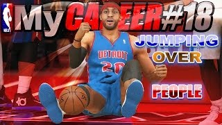 NBA 2K14 JUMPING OVER PEOPLE @ The Park & Dead HDD