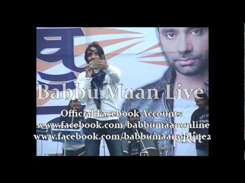 Babbu Maan Mitran Di Chatri Live and Reply  To Chardi Kla Channel 2011.flv