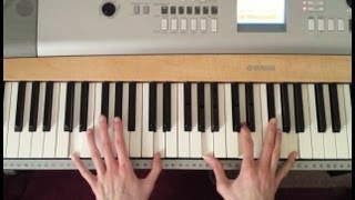 When I Was Your Man Bruno Mars Piano Tutorial (Part 1