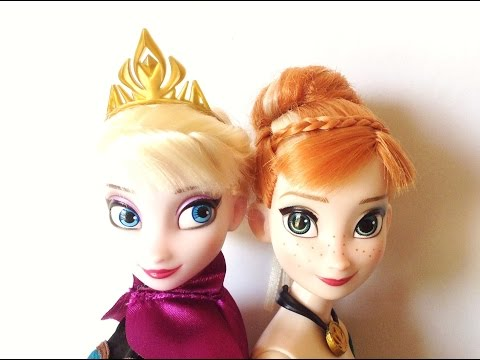 Disney Store Frozen Deluxe Fashion Pack Restyled Hair Tips