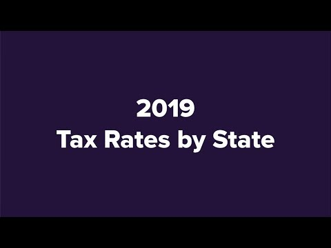各州州税比一比 1张图 看伊州纳税人全美最惨