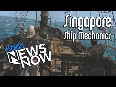 THE SHIPS OF AC4: BLACK FLAG (Escapist News Now)