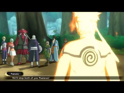 Naruto vs Jinchuruki and Tobi Final Fight [ENG] : Naruto Shippuden Ultimate Ninja Storm 3